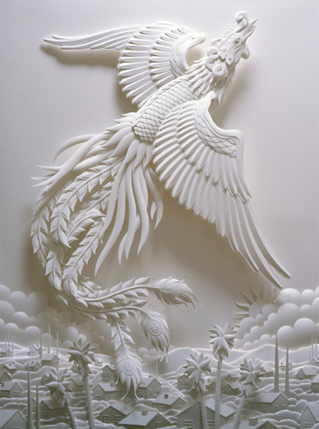 Incredible 3d Paper Art Made By Jeff Nishinaka Amazing Arts