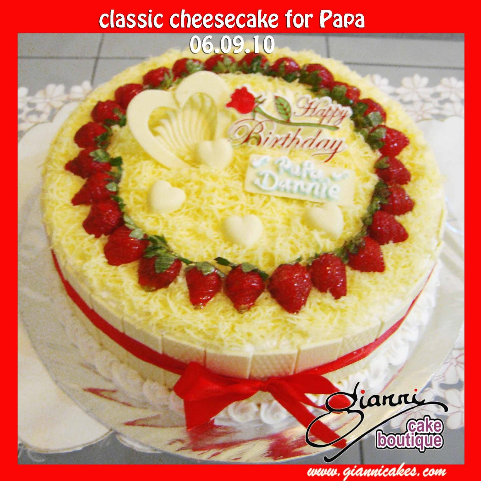 B Day Cake Images For Papa : Gianni Cake Boutique, Online Cake Shop Makassar: September ...