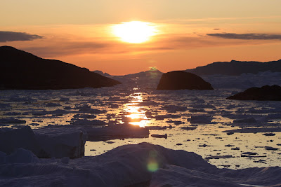 Sunset, Greenland