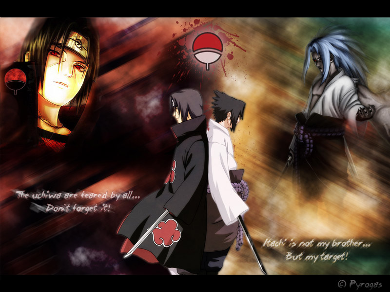 naruto vs sasuke shippuden final battle. Madara vs Danzou vs sasuke