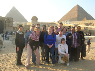 LTSP Students in Egypt on a globalization trip