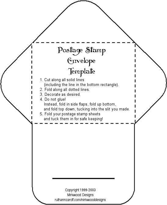 Ideas para invitaciones de boda: Moldes para hacer sobres para las ...