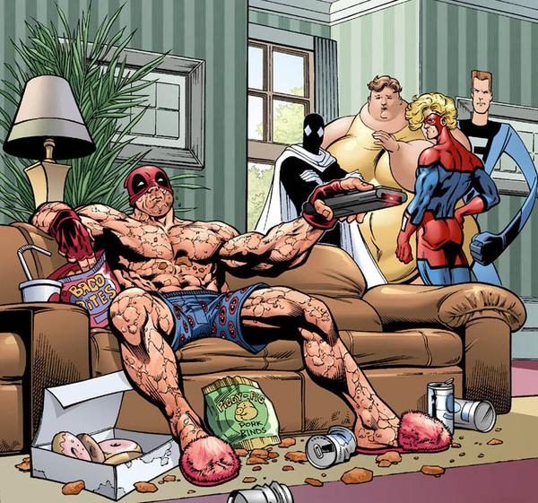lazy%252520deadpool Less than a third of adults realised there are 134 calories in a 175ml glass ...