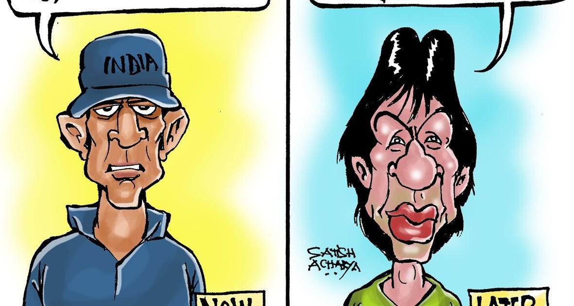 World of an Indian cartoonist!: Late night IPL parties!