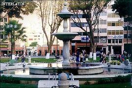 Plaza Mayor de la linda ciudad de Huànuco, tierra de lindas y bellas mujeres.