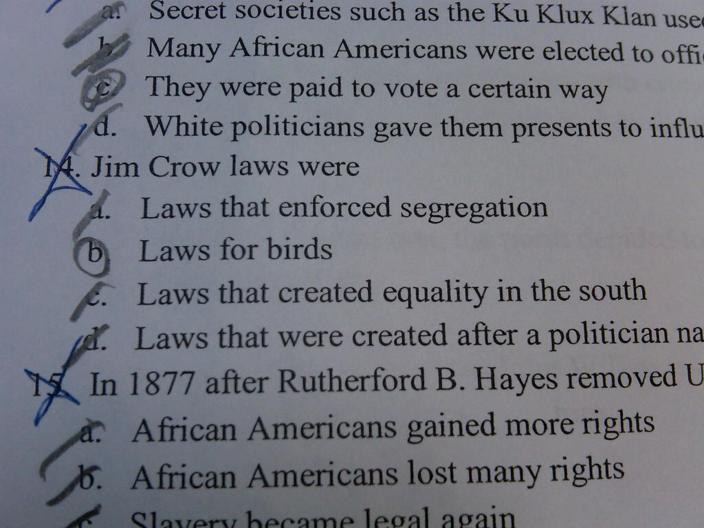 essay on jim crow law Jim crow laws jim crow laws throughout the history of the united states and the world, there has been racism and prejudice.