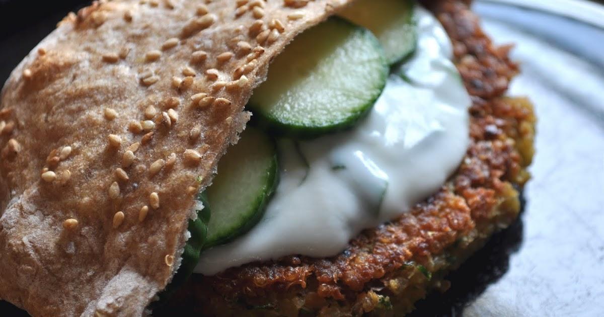 Greek-Style Quinoa Burgers | Nourished Soulista