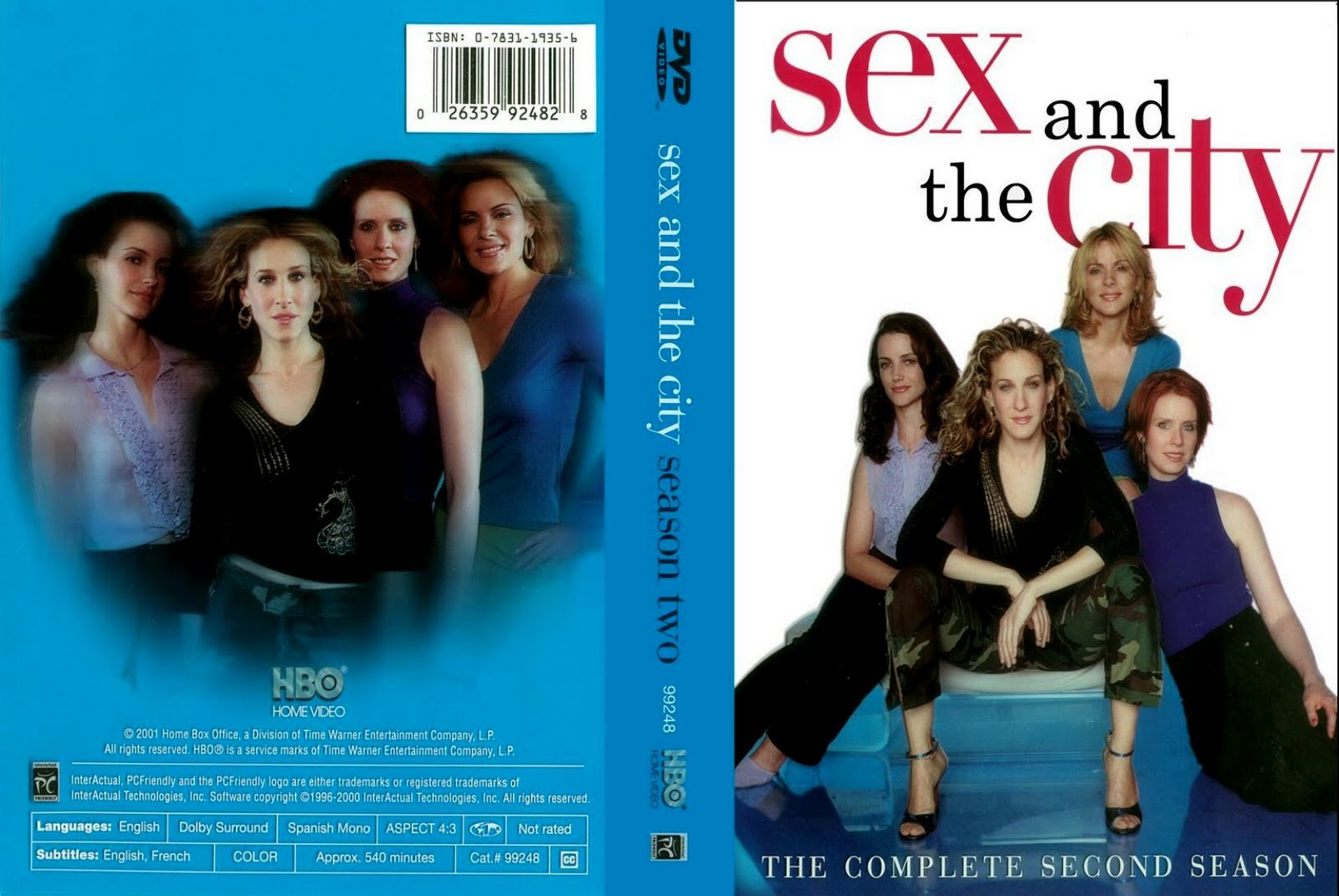 Sex And The City Seasons 1-6 , Sex And The City dvd TV Series ...