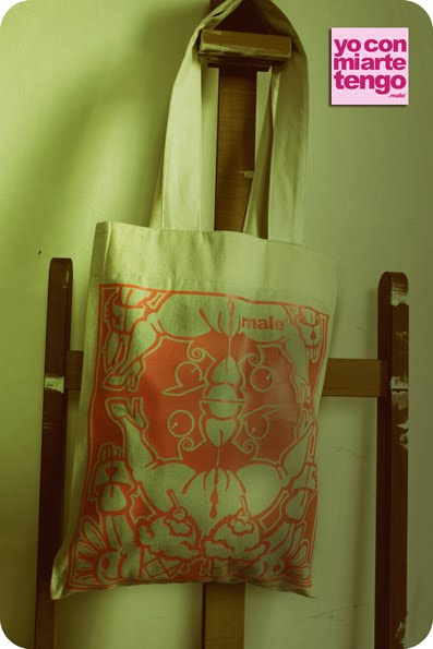 TOTE BAG by male ®  2010