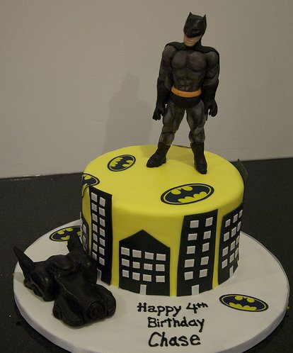 Cakes Batman Birthday Cake Ideas