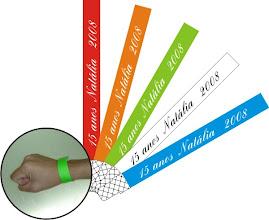 Pulseiras Identificação VIP -  DF - Fone:(61)3358-2226