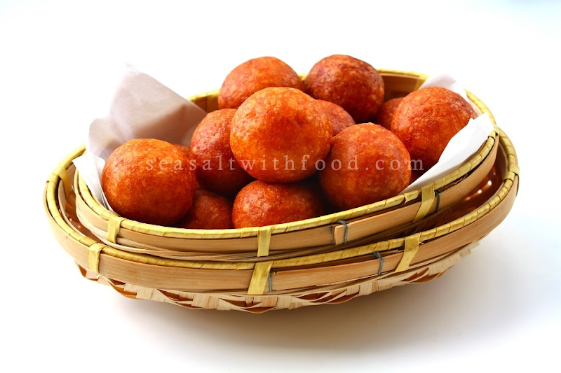 Recipe Fried Sweet Potato Balls by Seasaltwithfood
