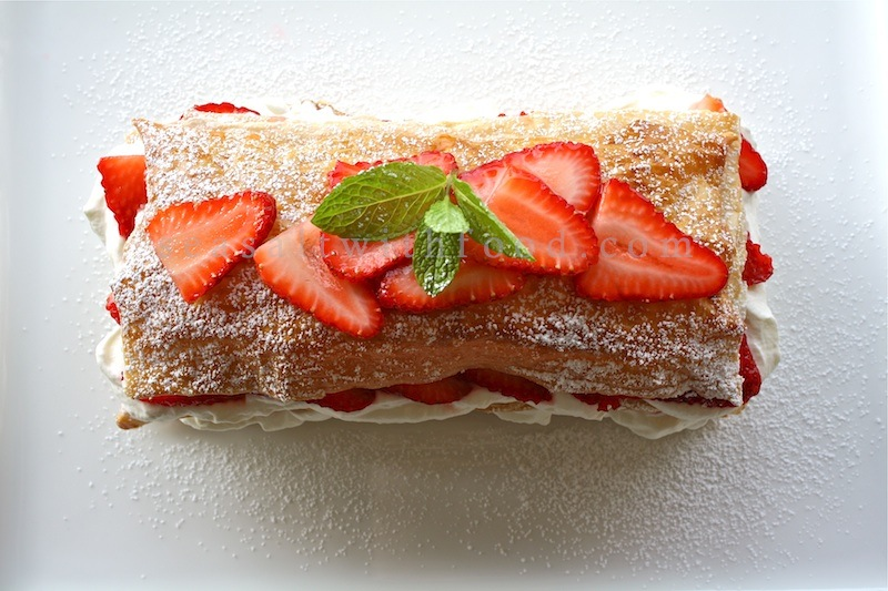 Strawberry Millefeuille & A $60 Shopping Credit Giveaway