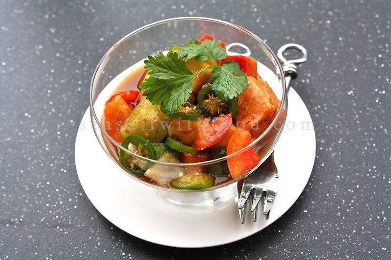 Seasaltwithfood: Salmon Ceviche With Fresh Mango Salsa