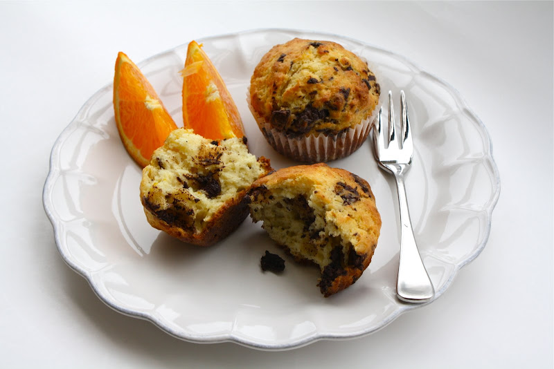 Seasaltwithfood: Orange Chocolate Muffins
