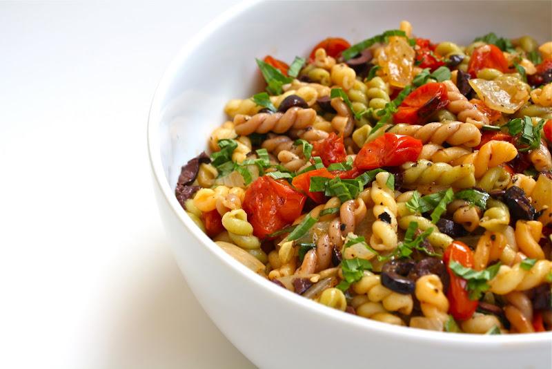 Seasaltwithfood: Pasta Salad With Roasted Tomatoes