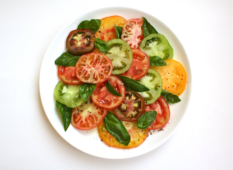 Seasaltwithfood: Heirloom Tomato Salad