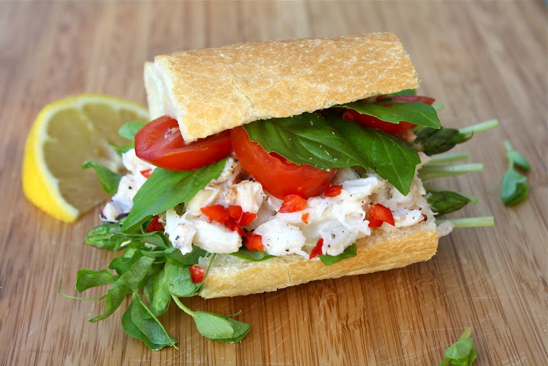 Seasaltwithfood: Dungeness Crab Sandwich