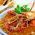 River Prawns With Sweet And Sour Chili Sauce