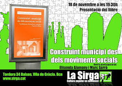 Xerrada a Barcelona 18 de novembre