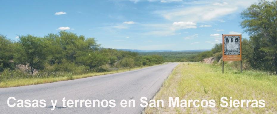 Casas y terrenos en San Marcos Sierras