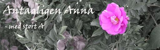 Antagligen Anna