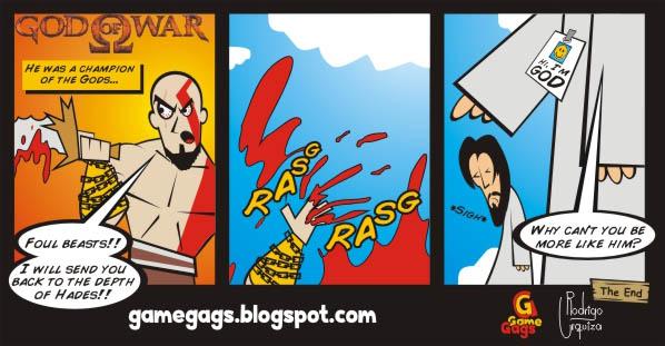God of War Kratos Comic