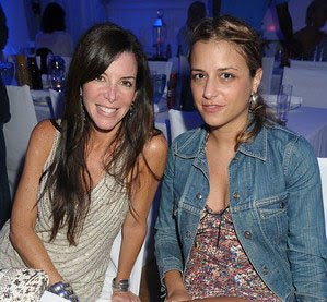 Stephanie Greenfield and Charlotte Ronson