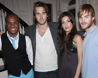 Cast of Trophy Kids - Nathan Lee Graham, Ryan Eggold, Tania Raymonde, and David Gallagher