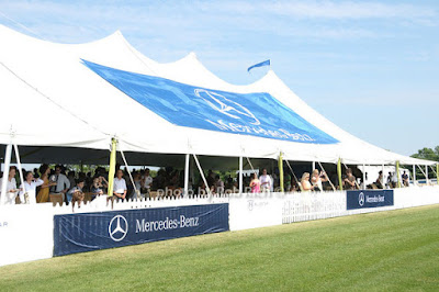 Mercedes-Benz Polo Challenge 2009 at Blue Star Jets Field VIP tent - Photo by Rob Rich