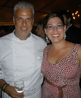 LeBernardin's Eric Ripert and Nicole B. Brewer at the 2008 Great Chefs Dinner - Photo by John Wegorzewski