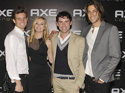 The cast of Beautiful Life Nick Tortorella, Sarah Paxton, Ben Hollingsworth and Jordan Woolley - Photo by Wire Image