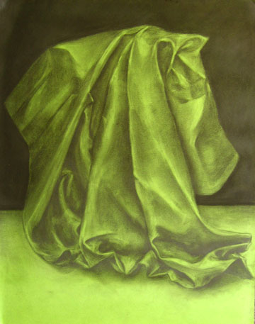 Soram Kim, study of fabric, 2007