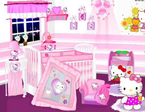 Juego de decorar la casa de hello kitty juega con tet - La casa de kitty ...