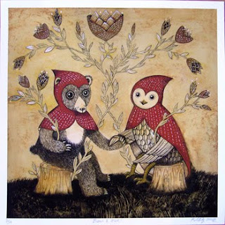 Kathleen Lolley: Bear & Owl