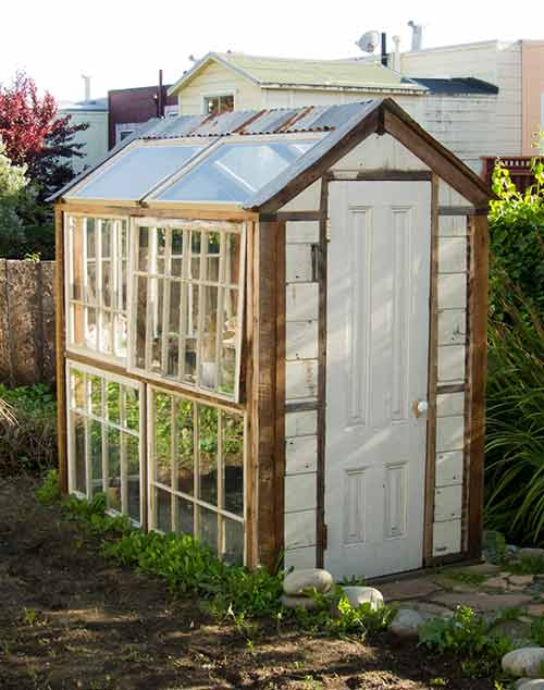Lloyd s blog san francisco with jack on a sunny friday for Tiny house with greenhouse