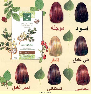Arab Mania  Different Henna Colors For Ur Hair