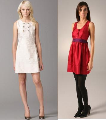 These dresses are the other