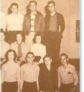 Class of 1954 as Juniors - Part II