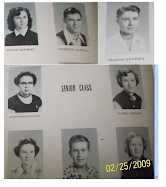 Class of 1954 at Seniors - Part II