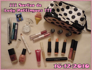 Sorteo en Lady Pottingues