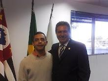 Ademir e candidato Aurelio Claudio