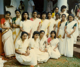 Girls during Onam Festival