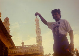 Toching the top of the Mysore palace