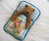 Voile sleeping bag for bear