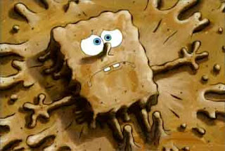 spongebob-muddy