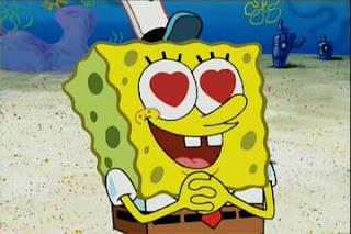 spongebob-hearteyes