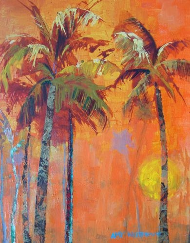 Palm trees are beckoning for Painting palm trees