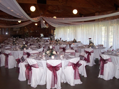 Enchanted Weddings from WEDDING ELEGANCE Ceiling Canopy with fairy lights