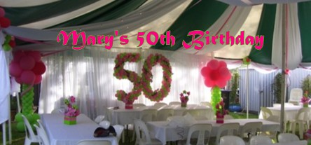 Mary's 50th Birthday Celebrations